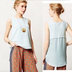 Anthropologie Deletta Sania Hi Low Tank